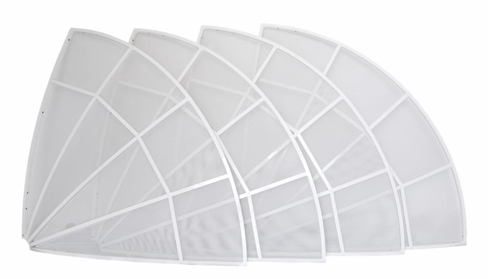 Antenna parabolica WEB230-5 2.3 metri  - solo disco