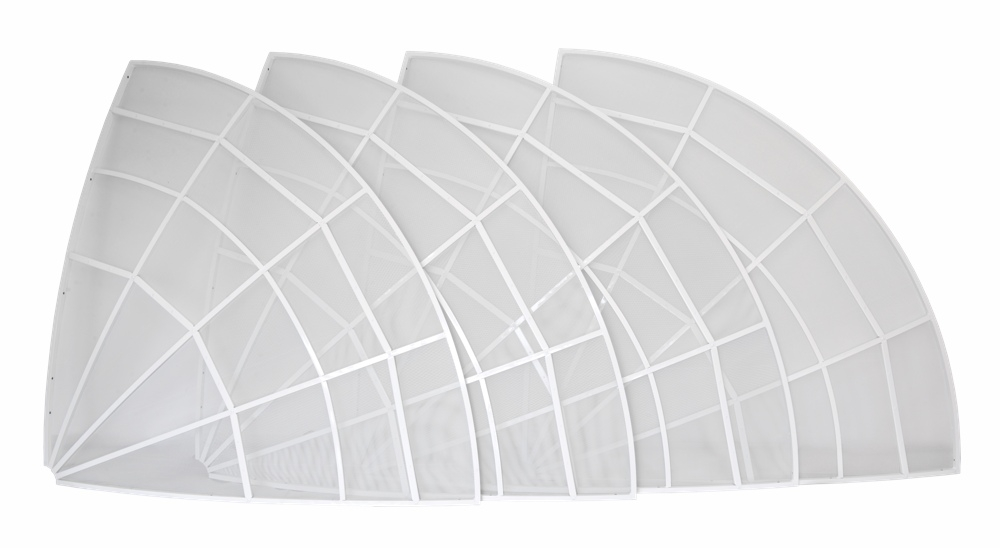 Antenna parabolica WEB300-5 3 metri  - solo disco