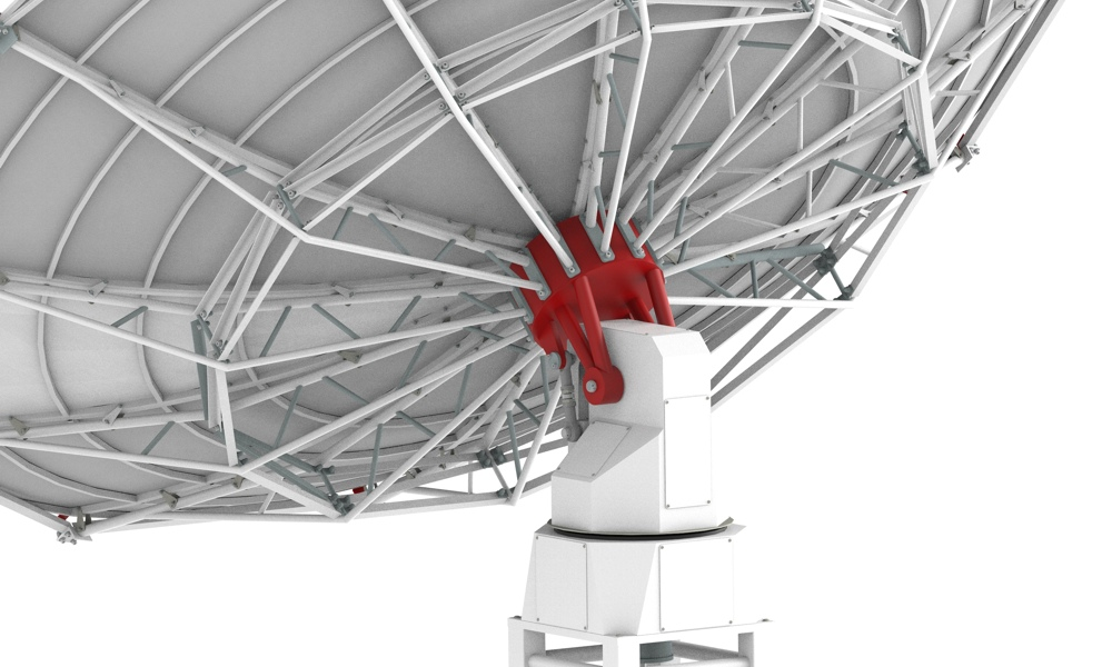 SPIDER 500A professional radio telescope