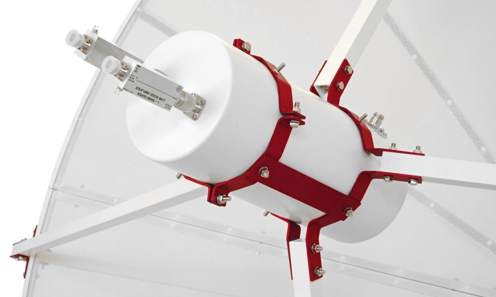 Antenna parabolica WEB230-5 2.3 metri primo fuoco con supporti