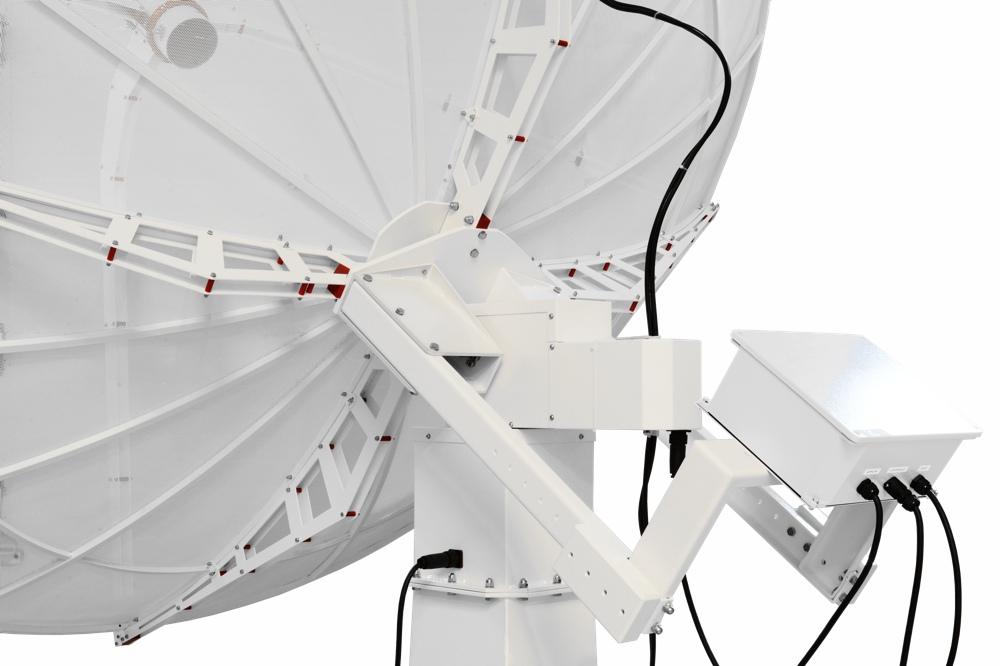 Radiotelescopio avanzato SPIDER 300A: montatura altazimutale computerizzata impermeabile