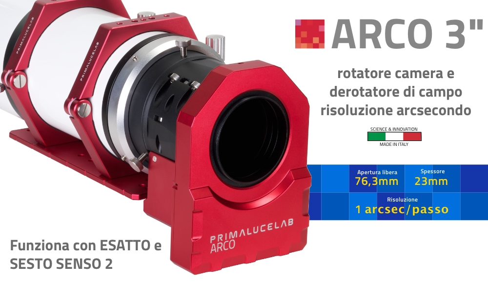 ARCO 3 rotatore di camera e derotatore di campo