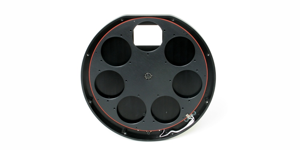 Moravian ruota portafiltri motorizzata serie G3 Mark II per 7 filtri 50x50mm