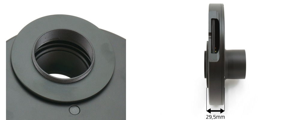 Ruota portafiltri per filtri da 50,8mm - 5 posizioni