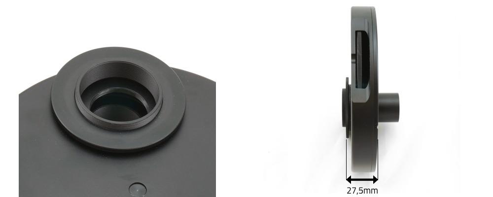 Ruota portafiltri per filtri da 31,8mm - 9 posizioni