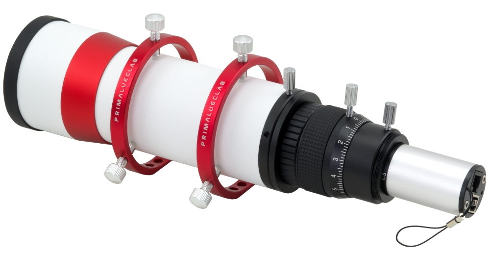 Autoguider package with 60mm guide scope, PLUS rings and QHY5L-II mono camera