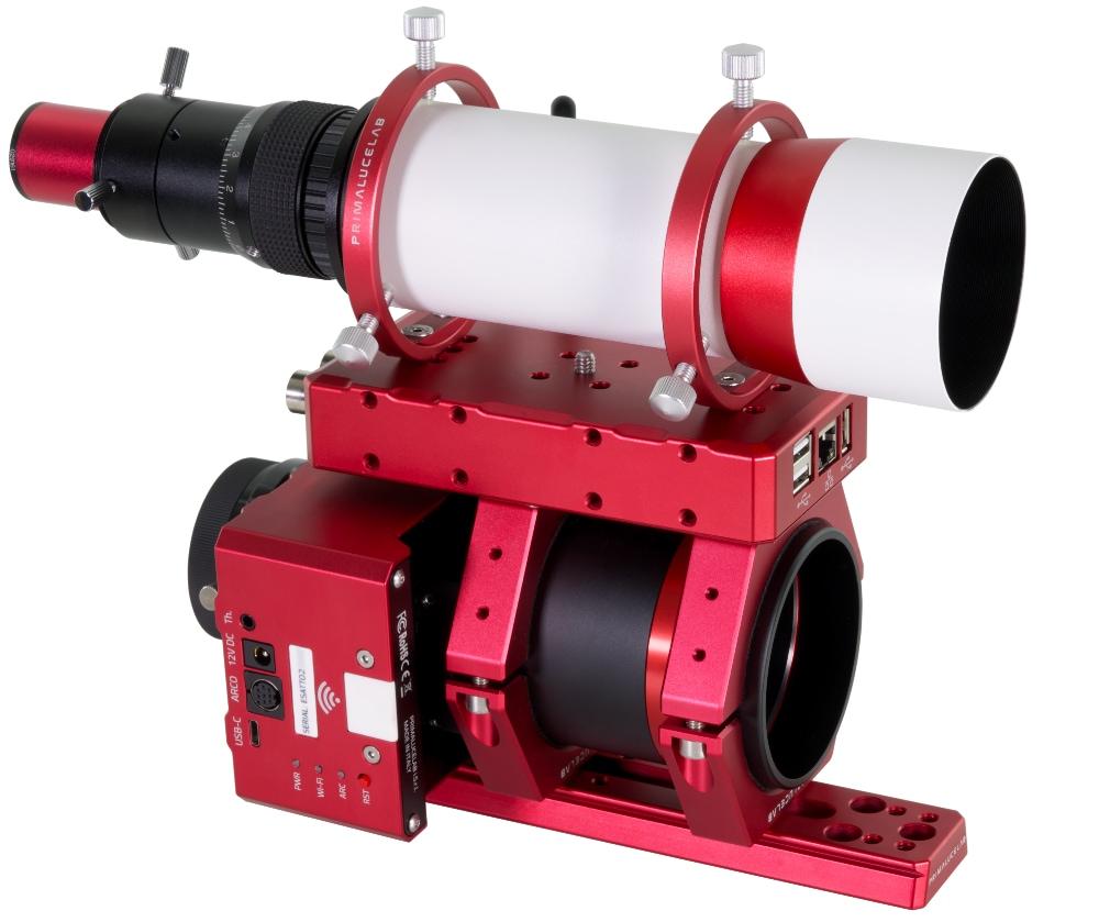 Borg fluorite apochromatic refractor 55FL f3.6 with ESATTO 2