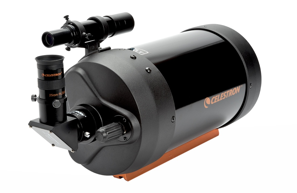 Celestron telescopio C6-XLT Schmidt-Cassegrain con barra Vixen