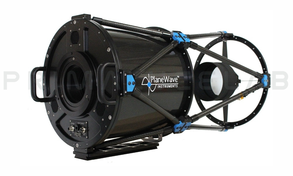 PlaneWave CDK14 astrograph f/7.2 with fused silica optics