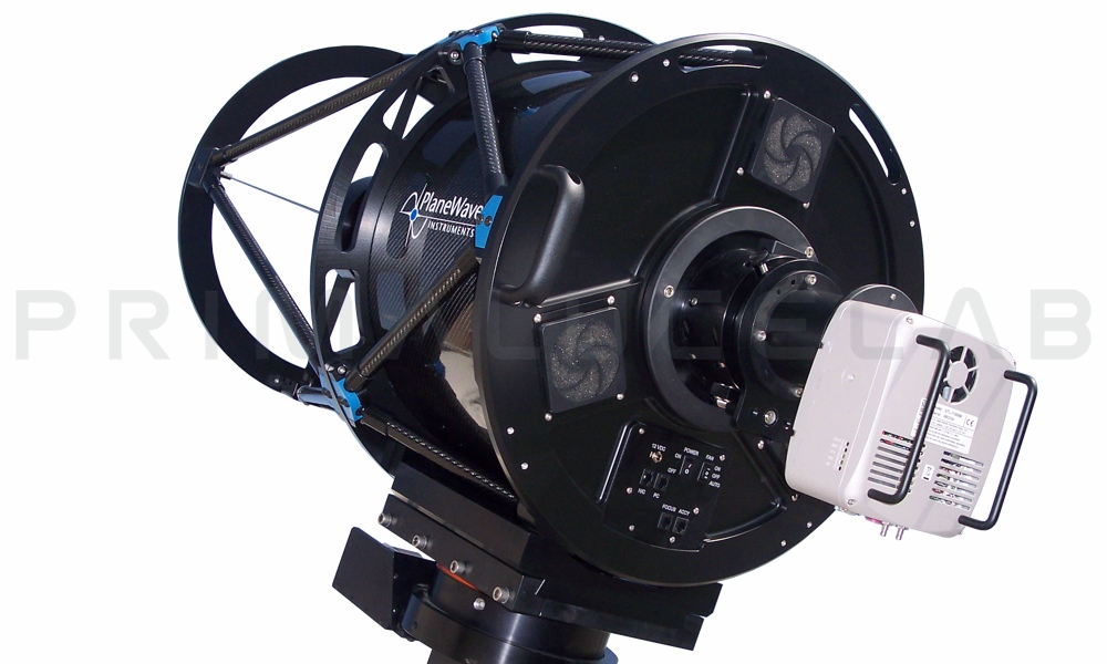 PlaneWave CDK400 f/6.8 telescope with CDK17 tube and L-500 mount