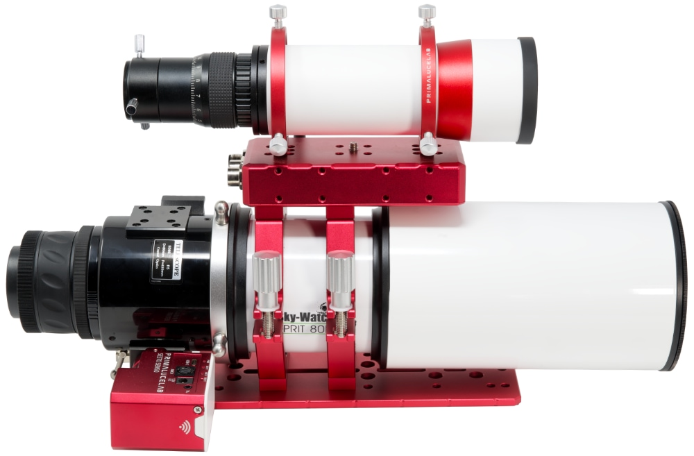 SkyWatcher ESPRIT 80 ED apochromatic refractor with SESTO SENSO