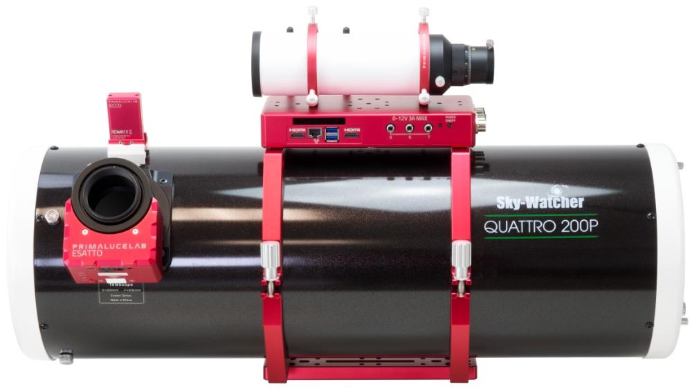 SkyWatcher Newton QUATTRO 200/800 f4 con ESATTO 2