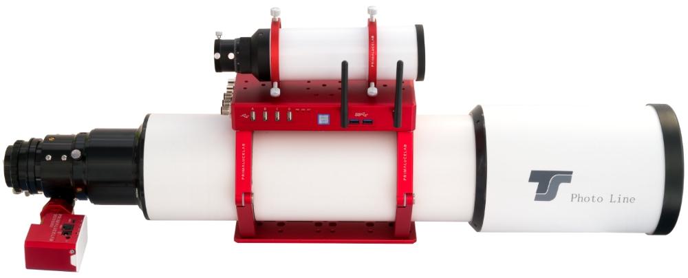 TS-Optics Photoline Lanthanum FPL-53 125mm f/7,8 doublet apochromatic refractor with SESTO SENSO